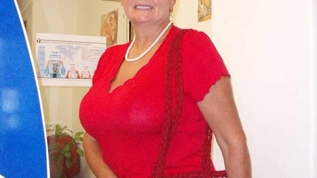 Dárkyně kabelky Marie Strelková.