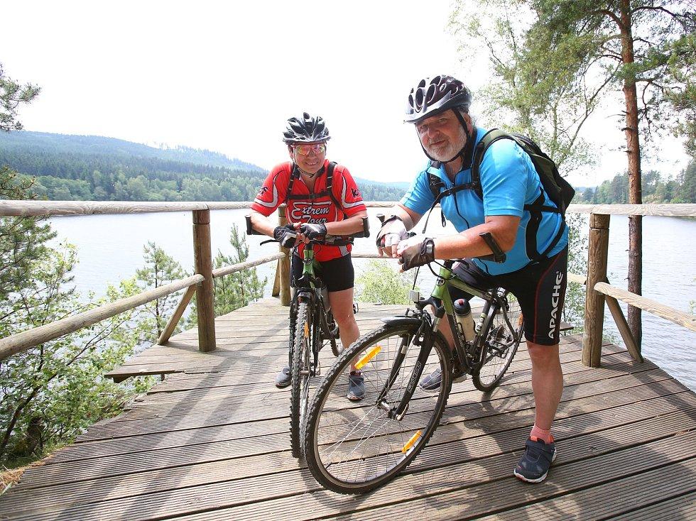 Z Romžberka do Horní Plané budou o prázdninách vozit turisty i místní dotované cyklobusy.