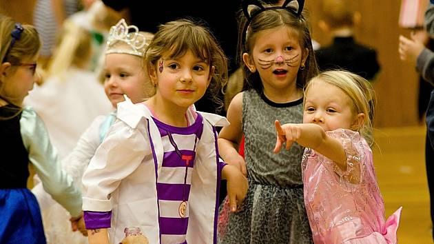 Ilustrační fotografie: Dětský karneval. Foto: Richard Karban