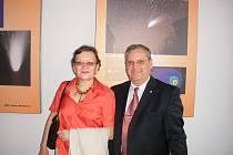 Manželé Crina a Dumitru Prunariu z Rumunska.