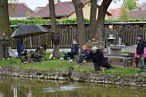 Šestatřicet rybářů a rybářek, z toho 19 dětí, bojovalo v sobotu v Nákří na Českobudějovicku o ceny.