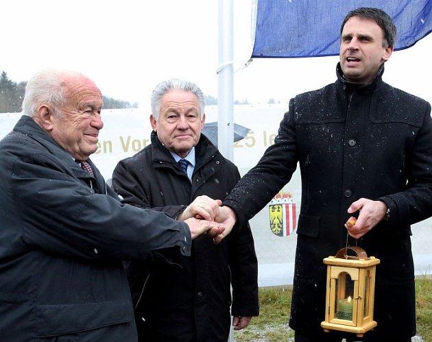 Josef Ratzenböck, Josef Pühringer a Jiří Zimola.