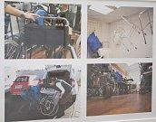 Výstava představující práci mobilního hospice je k vidění na krajském úřadu.