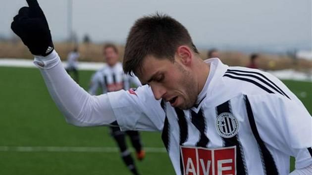 Michal Klesa přispěl k výhře Dynama s béčkem Sparty (6:0) dvěma góly.