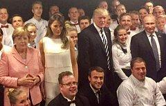 Na památku na G20.