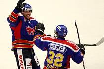 Utkání  1. ligy hokeje mezi HC Motor České Budějovice a HC Berounští Medvědi.