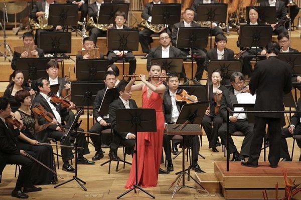 Pekingská filharmonie vBrucknerhausu 2013.