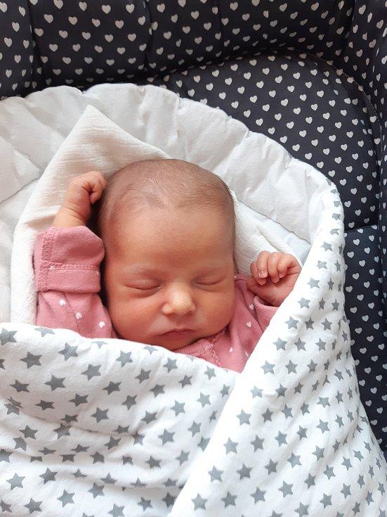 Aneta Rychtářová ze Strakonic. Prvorozená dcera Miroslavy a Jiřího Rychtářových se narodila 16. 4. 2020 ve strakonické porodnici. Holčička při narození vážila 2950 g a měřila 48 cm.