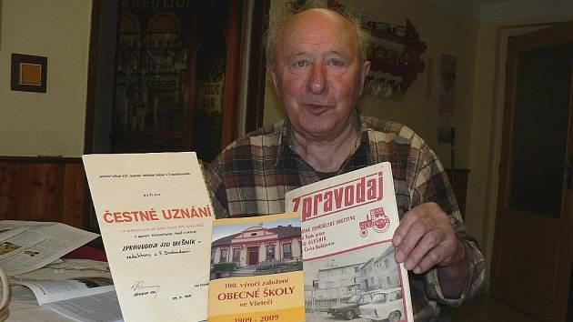František Svoboda, neoficiální kronikář Všeteče.