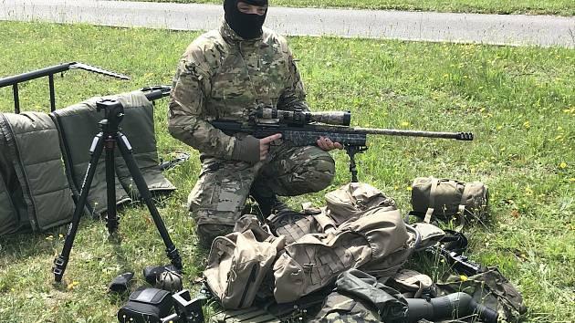 Specialisté temelínské jednotky se dočkali nového vybavení, které se běžným policistům nepořizuje.