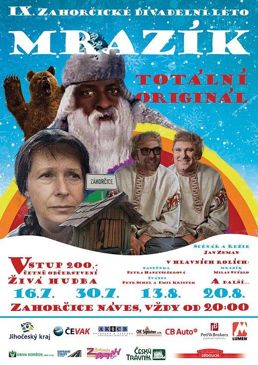 V Zahorčicích hrají místní divadlo. Uvádí hru Mrazík