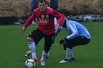 Jakub Řezníček svým gólem rozhodl o výhře Dynama s Čáslaví.
