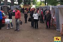 Boršovský trh přiláká vždy mnoho návštěvníků.