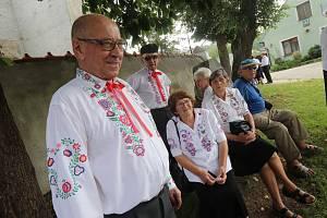Dožínky v Boršově nad Vltavou.
