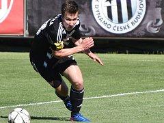 Lukáš Matějka se rozloučil s Dynamem v zápase proti Třinci gólem a asistencí.