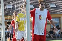 Karel Šíma v uplynulém kole nahrál na jeden z gólů Slavoje Temelín, který doma porazil Nové Hrady 4:2.