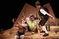 Pohádkový příběh Tady je Krakonošovo uvede v pátek Loutkohra Jihočeského divadla. Scénář napsal a hru zrežíroval Konrád Popel.