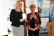V úterý se konalo slavnostní předávání cen Hejtmanky Jihočeského kraje za společenskou odpovědnost za rok 2018.