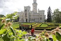 Zámek Hluboká. Ilustrační foto.