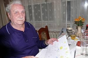 Josef Mejsnar slaví 95. narozeniny
