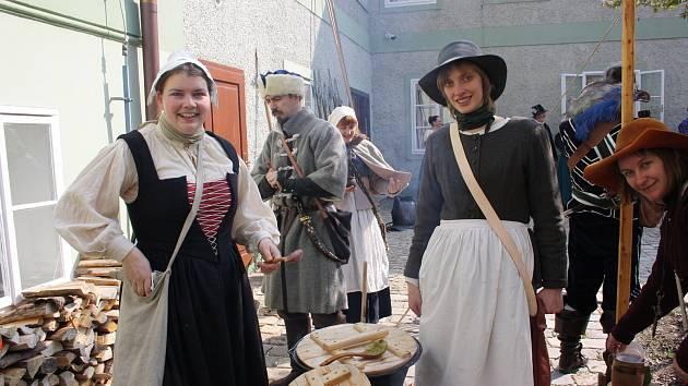 Součástí dne památek byla v Českých Budějovicích akce Obléhání Budějovic 1619.