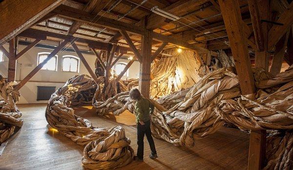 Písecká Sladovna láká do 21.září na výstavu Les - příběhy pěti stromů.