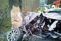 Tragická nehoda u Tří veverek.