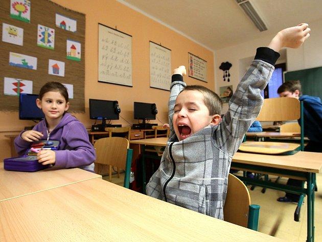Žáci nastoupili po Vánocích zpátky do škol