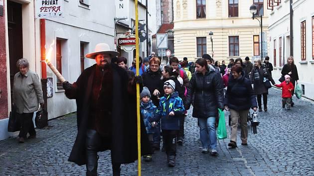 Zvonkový průvod v Českých Budějovicích