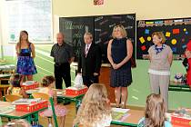 První školní den na ZŠ v Trhových Svinech