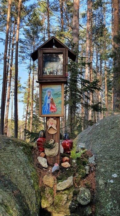 Na místo opředené pověstí zve paní Marie Kadlecová z Českých Budějovic.