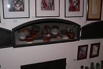 Rekonstruovanou pecí se může pochlubit galerie v českobudějovické Krajinské ulici.