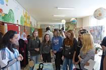 Zahraniční studenti zavítali na Základní školu v Hluboké nad Vltavou.