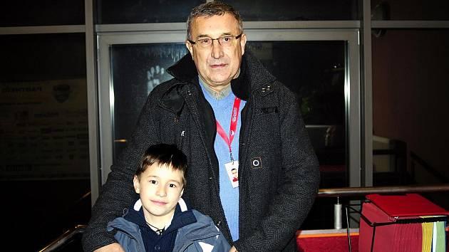 Jaroslav Pouzar se synem Jarouškem.