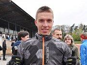 Mistrovství České republiky na 10 000 metrů na dráze v Českých Budějovicích. David Vaš ze Sokola České Budějovice
