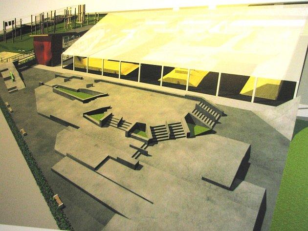 Kromě dvou skateparků, které měly být zastřešeny a umožnily by tak případně celoroční provoz.