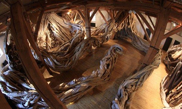 Vpísecké galerii začala výstava Les. Potrvá do září.