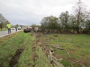 Nehoda u Lišova
