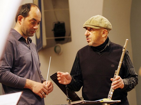 VKrumlově na Festivalu komorní hudby zahrají Talichovo kvarteto (Jan Talich na snímku vlevo) iJiří Stivín.