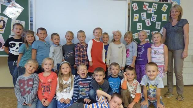 1. A ze Základní školy v Dubném.