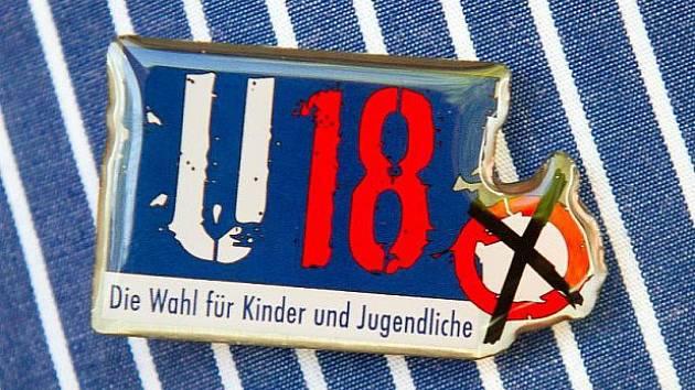 Logo mladých voleb.