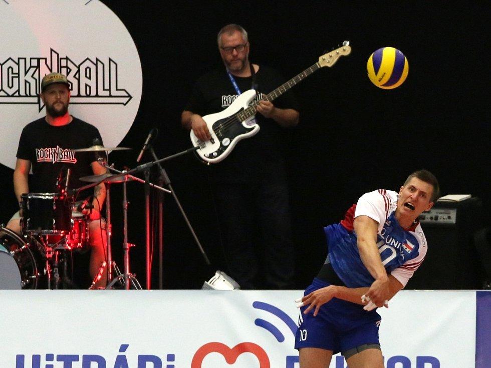 Světová liga volejbalistů v Budvar aréně