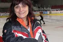 Trenérka BK ČB Iveta Bidařová má ze syna Petra jistě radost.