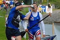 Světový pohár v maratonu kanoistů v Týně nad Vltavou