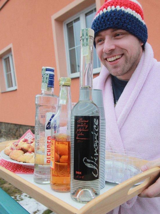 Neděle patřila v Dobré Vodě u Českých Budějovic masopustnímu veselí.