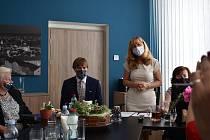 Ministr zdravotnictví se setkal s vedoucí KHS Kvetoslavou Kotrbovou a předsedkyní představenstva jihočeských nemocnic Zuzanou Roithovou.