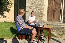 Mladý autor Lukáš Boček se představil v Trhových Svinech