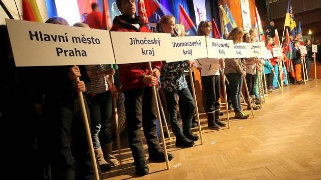 Slavnostní zakončení olympijských her