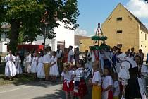 Oslavy výročí 85 let trvání baráčníků spojili v srpnu v Pištíně s oslavami 760 let obce.