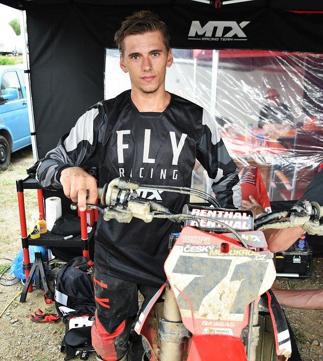 Pavel Dvořáček chce prohánět motokrosovou špičku.